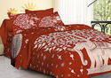 Tree Elephant Design Bed Sheet