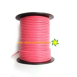 Pink Round Leather Cord