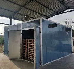 ISPM-15 Forced Hot Air Treatment Plant