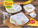 Square Dinner Set, 32pc, For Home