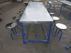 6 Seater Canteen Tables