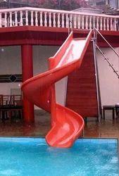 Spiral Pool Slide for Water Park