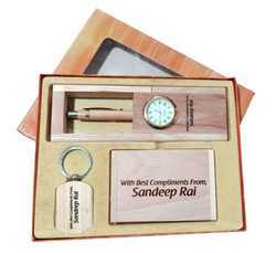 WG-1030-P Laser Engraved Wooden Gift Set