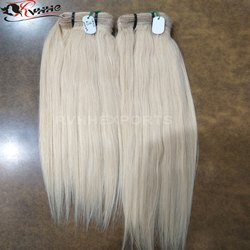 Blonde Straight Human Hair