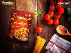 Puzzles & Expedite Tomato Flavoured Curlies, Packaging Size: 50 Grams