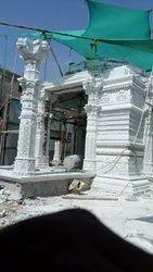 White Kumari Marble Temple Sompura Architect Work