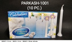 Parkash-1001 Plain White 10 Pc / Pkt