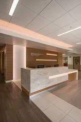 FURNITURE DECOR Showroom Interior Decorator, Area / Size: 500 sq ft