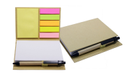 Stationary Set With Memo Pads Note Book With Sticky Notes