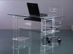 Acrylic Computer Tables, 10 yrs material