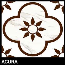 Rangoli Porcelain Tiles, Thickness: 8 - 10 mm