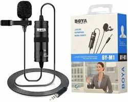 Collar Mic 3.5mm Clip-On Mini Lapel Lavalier Microphone For Android/Ios Device