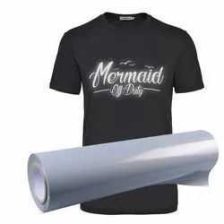 Heat Transfer  Vinyl  For T-Shirt Printing (Reflective Grey)