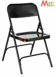 Multicolor MBTC Classic Folding Chair in Black