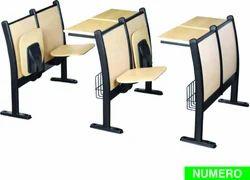 Seminar Furniture Seat Folding Trendmax Space Saving Classroom Audi Chair Step Theatre
