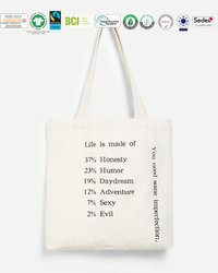 Sustainable Canvas Print  Bag Manufacturer