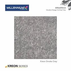 Gloss Double Charge MILLENNIUM VITRIFIED FLOOR TILES, Thickness: 10 - 12 mm, Size: Medium