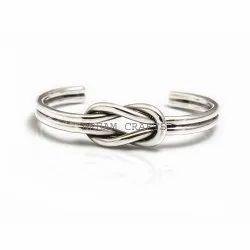 Party Silver Knot Bracelet