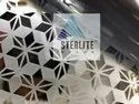 SS304 Gold Mirror Laser Cut Stainless Steel Sheet