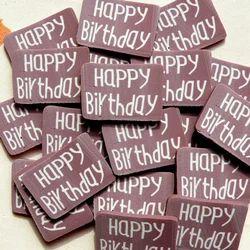 Birthday Print Chocolate