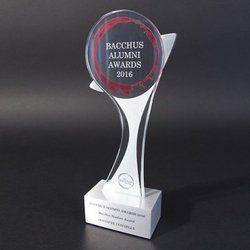 Bacchus Alumni Awards Crystal Trophy