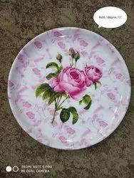 Rose Dinner Plates