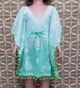Summer Cotton Kids Wear Dress Girl Kaftan