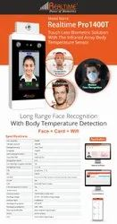 Touch-less Body Temperature Scan Face Reader Biometric Attendance Machine