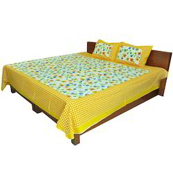 Double Bed Sheet And Pillow Covers 119