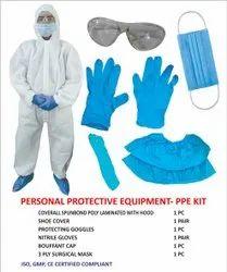 纺粘多层可清洗/可重复使用的PPE套件(个人防护装备套件)
