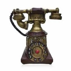 Brown Antique Telephone