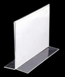 Acrylic display Paper Holder
