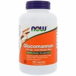 Now Foods Glucomannan 575 Mg Capsules