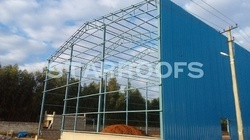 Badminton Court Roofing Fabrications