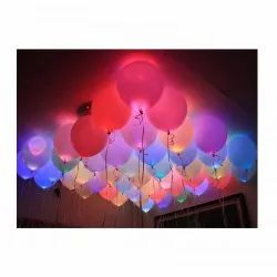 LED latex balloon for birthday party.