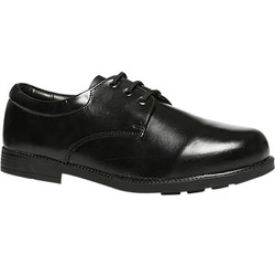 Bata Black School Shoes For Boy, Size