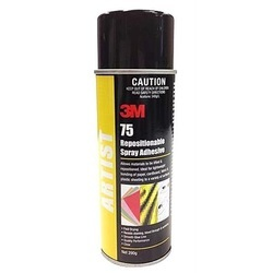 3M Industrial Grade 75 Repositionable Spray