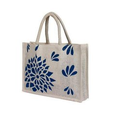 Open Printed Jute Carry Bags