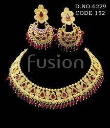 Traditional Rajwada Designer Necklace Set
