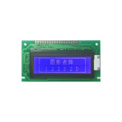 JHD12232D B/W 122x32 Dots Display