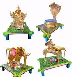 Handcrafted Multicolor Vahan / Vahana / Vahanam / God Vehicle