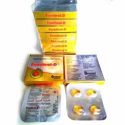 Femitrol-D Softgel Capsules, Fitwel, Packaging Type: Blister
