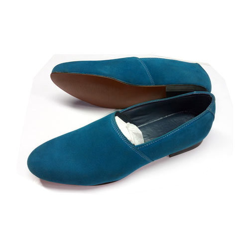 f04d5016ce1 PU Synthetic Men Casual Sea Blue Shoes, Size: 6 To 12 Inches, Rs 750 ...