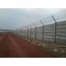 Solar Power Plant Precast Boundary Wall