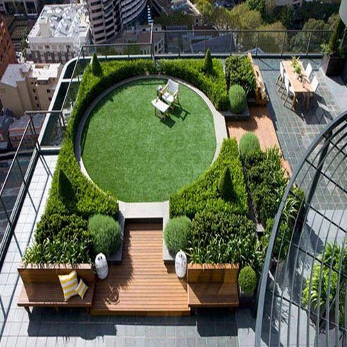 35 Best Designs Terraced Front Yard Ideas: Designer Terrace Garden In New Delhi, Okhla By Vinca
