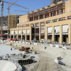 Concrete Commercial Projects Shopping Mall Construction Services