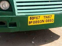 FRP Bus Bumper