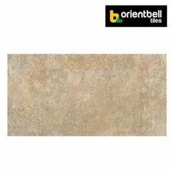 Orientbell ROCKER FLORA BEIGE Highlighter Floor Tiles, Size: 600X1200 mm