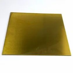 Brass Sheet, Thickness: 0.4 mm