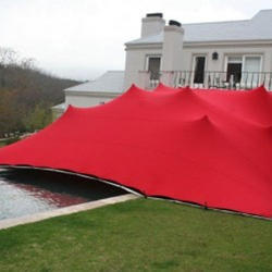 Red Bedouin Stretch Tents